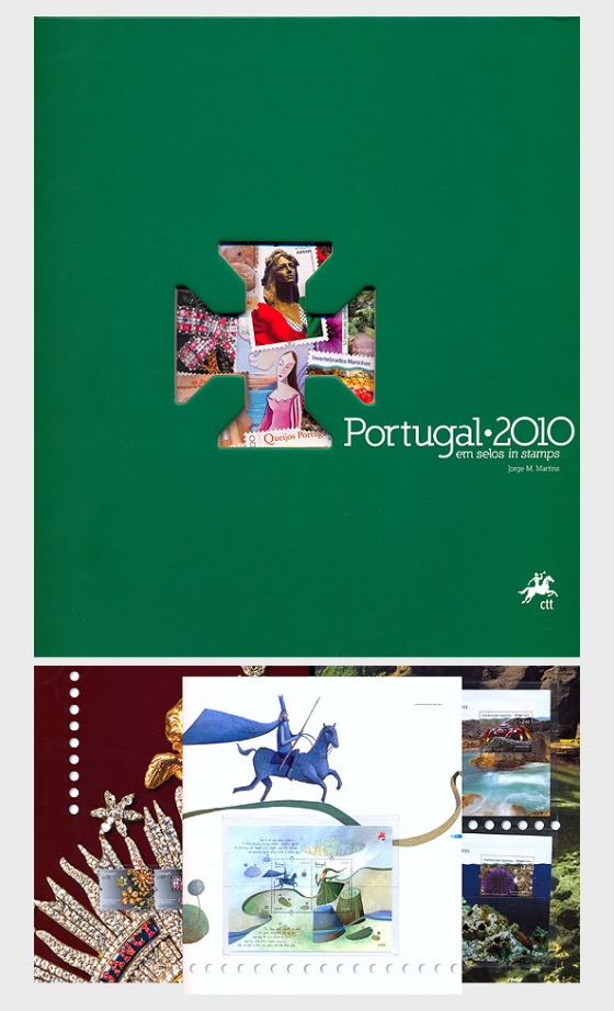 Portugal in Stamps 2010 - Annual Product