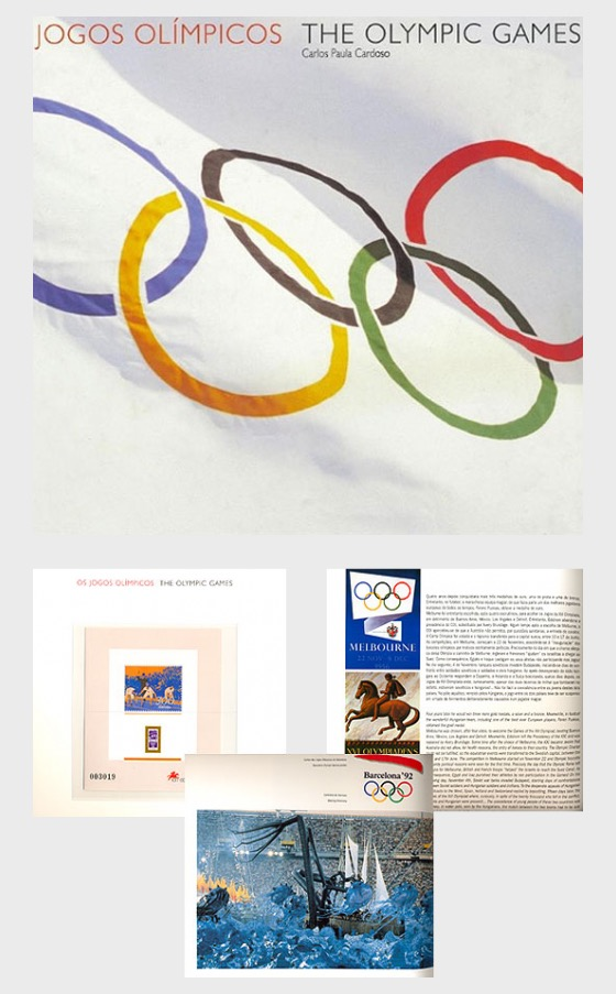 The Olympic Games Book - Stamp Booklet