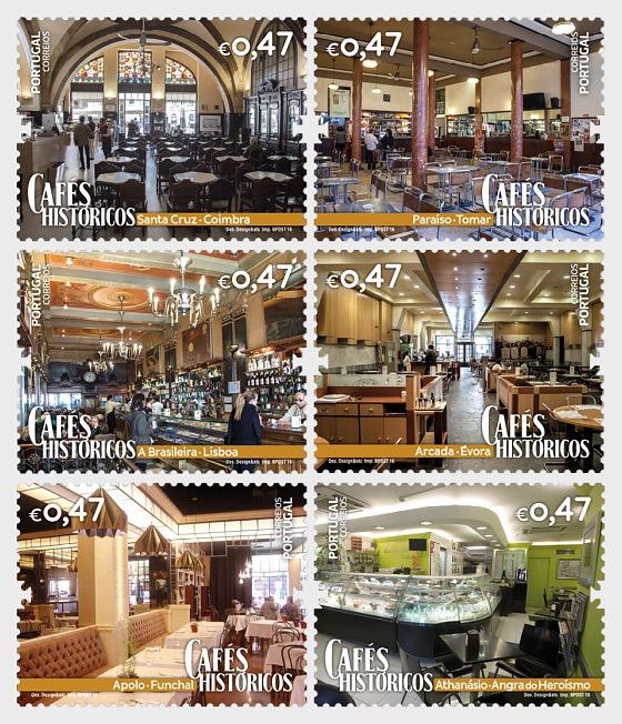 Historische Cafés - Serie