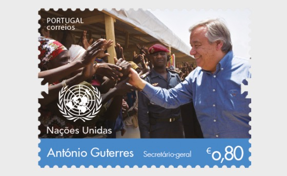 António Guterres - Secretary-General of the United Nations - Set