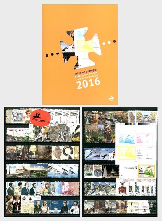 Jährliches Produkt 2016 (Portugal) - Jahresausgaben