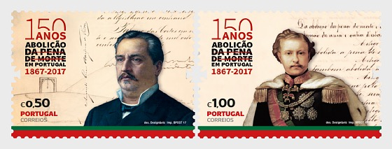 150 Years Of The Abolition of the Death Penalty in Portugal - Set