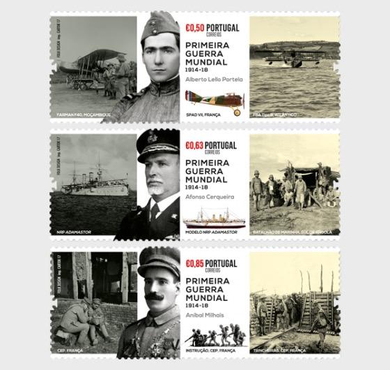 Evocation of Portuguese Participation in World War I - Set