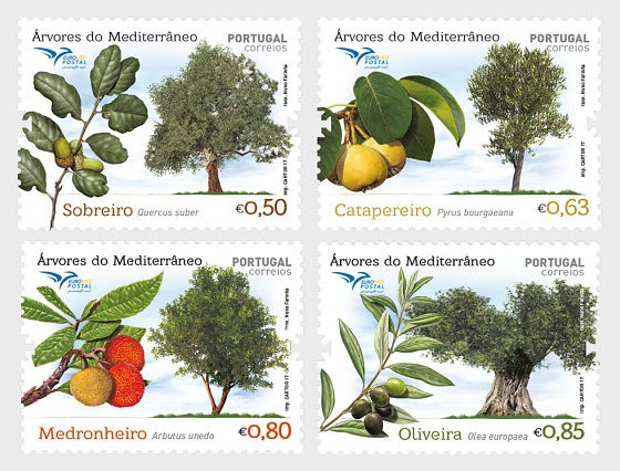 Trees of the Mediterranean - Set