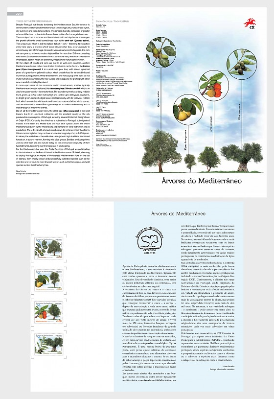 Euromed - Trees of the Mediterranean - Special Folder