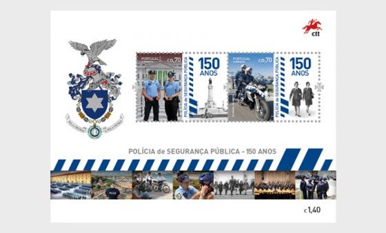The Portuguese Public Security Police - Miniature Sheet
