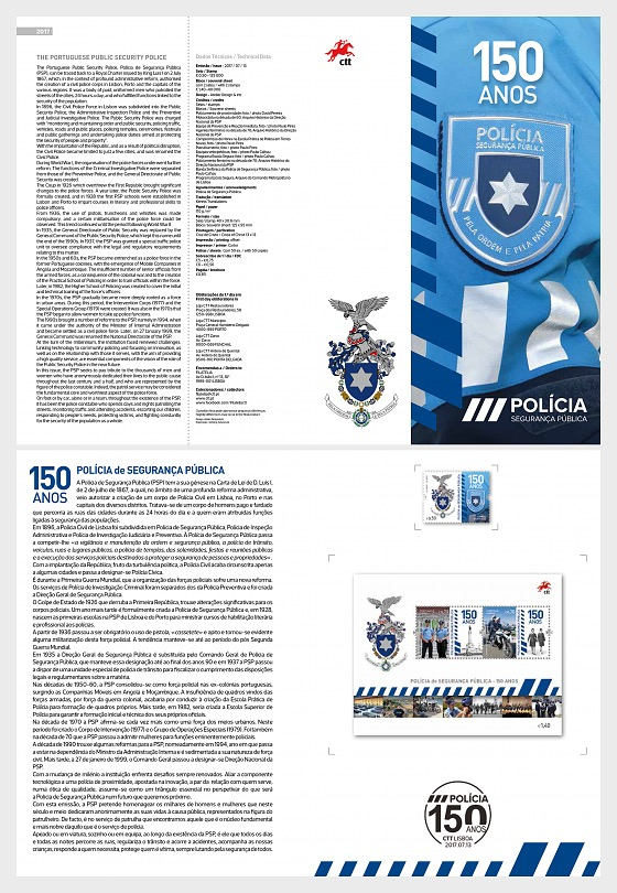 The Portuguese Public Security Police - Special Folder