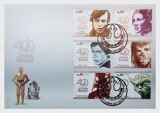 Star Wars - 40 years (FDC-S) - First Day Cover