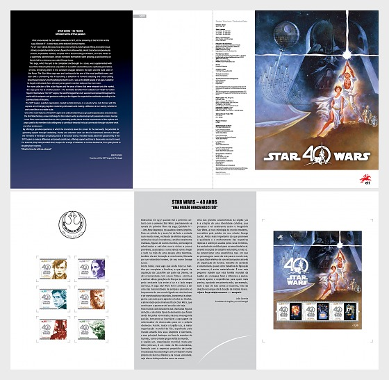 Star Wars - 40 years - Special Folder CTO