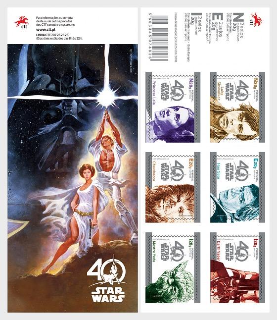 Star Wars - 40 years (Self-Adhesive) - Stamp Booklet