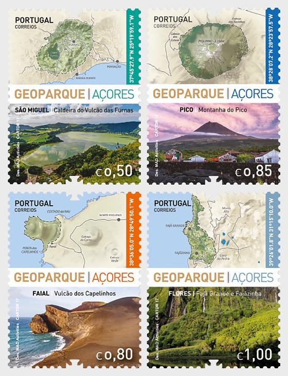 Geopark - Azores - Set