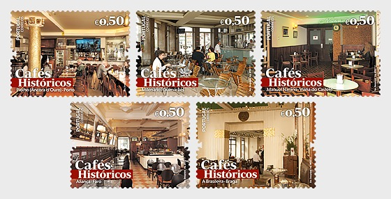 Historic Cafes II - Set
