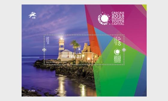Cascais 2018 - European Youth Capital - Miniature Sheet