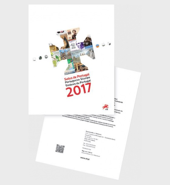 Year Pack 2017 (Portugal) - Includes Stamps & M/S's - Year Collections