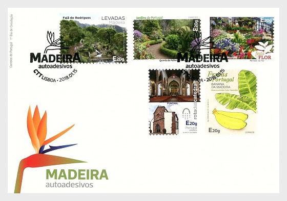 Madeira Self-Adhesive - First Day Cover