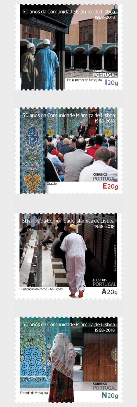 The Islamic Community of Lisbon - Set
