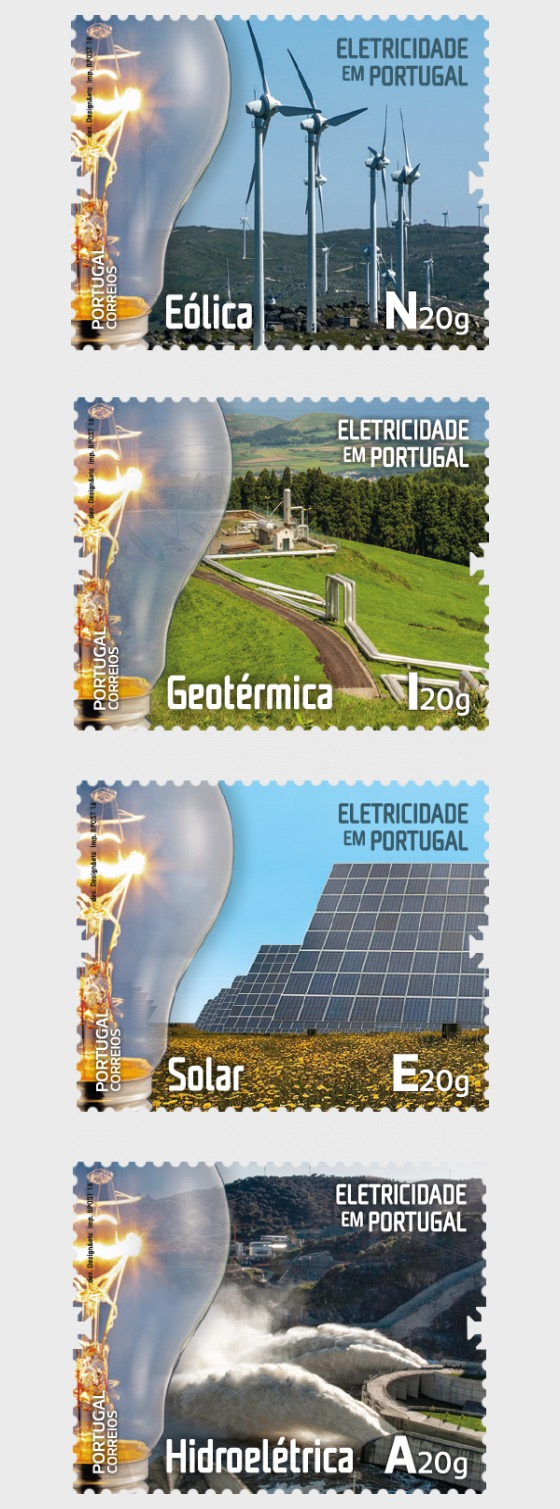 Elektrizität in Portugal - Serie