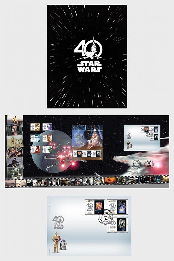 Thematisches Pack Star Wars 40 Jahre - Sammelbares
