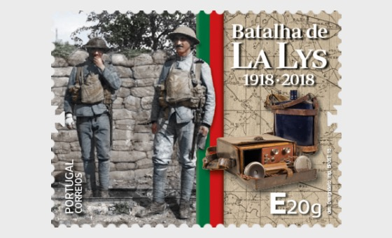 The Battle of the Lys 1918 - 2018, a Hundred Years Ago - Set