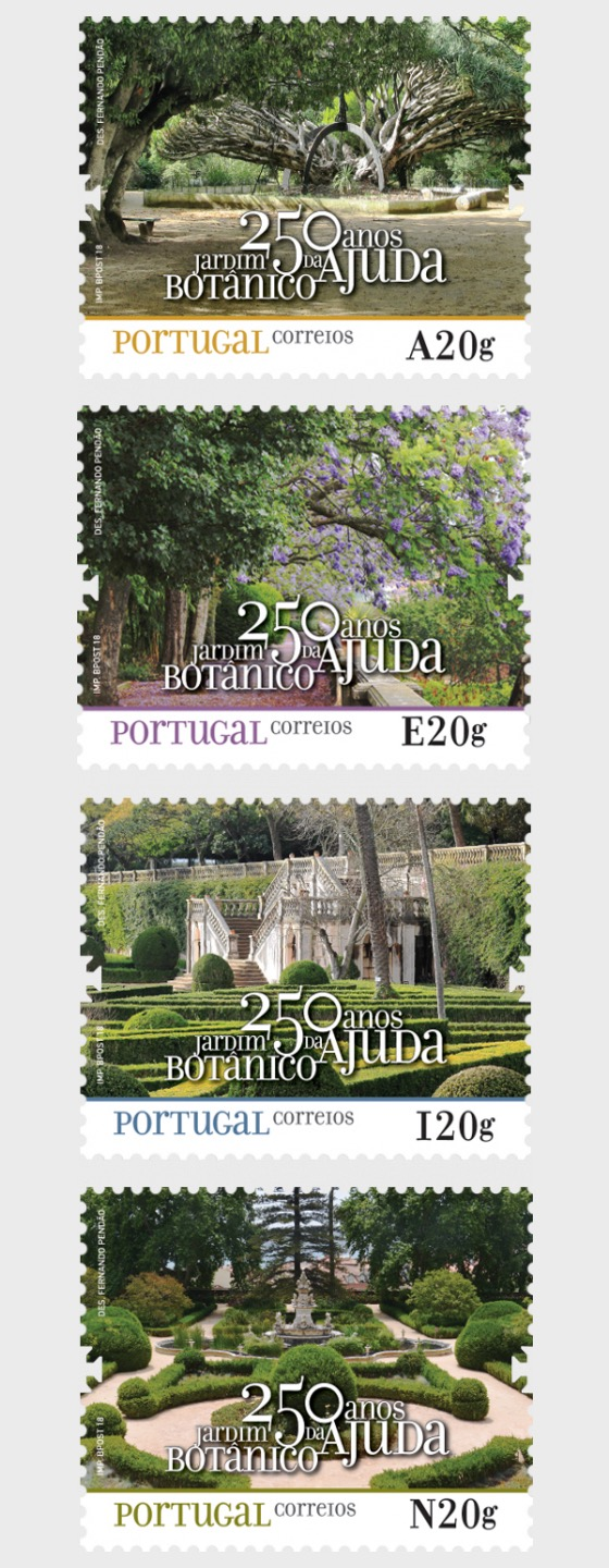 250th Ann of the Foundation of Ajuda Botanical Garden - Set