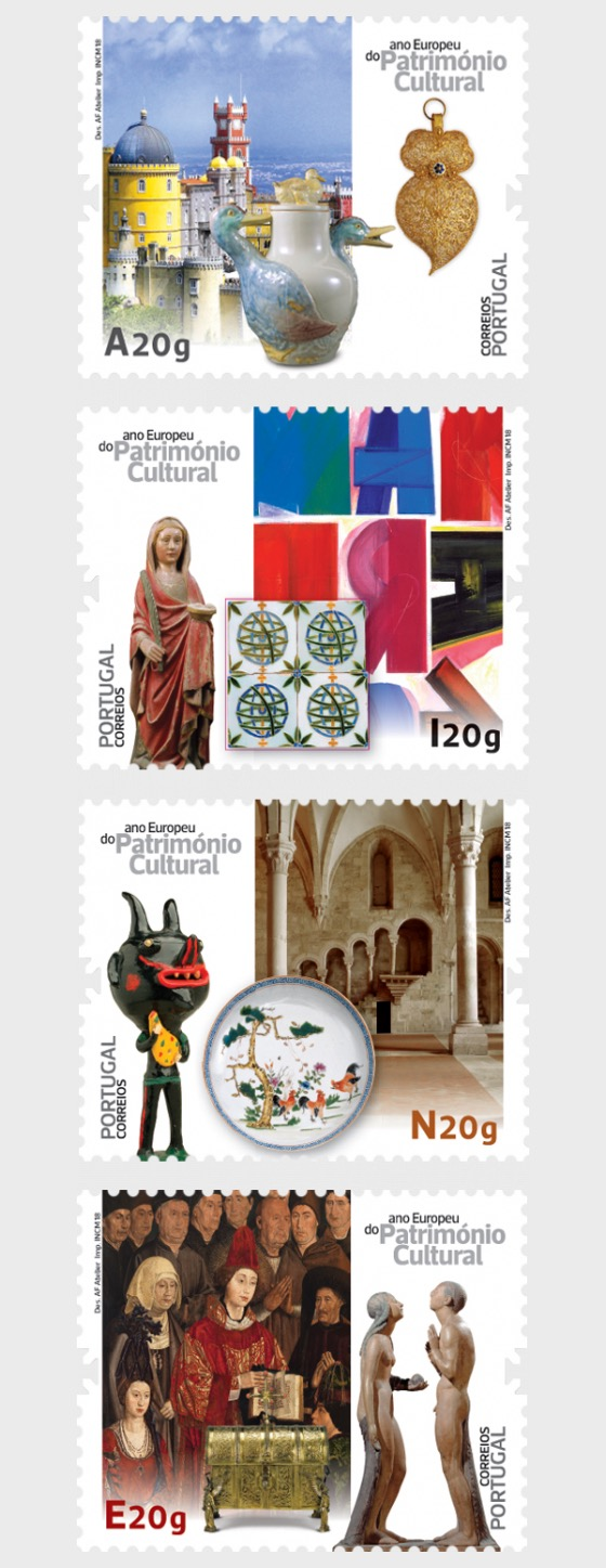 European Year of Cultural Heritage - Set