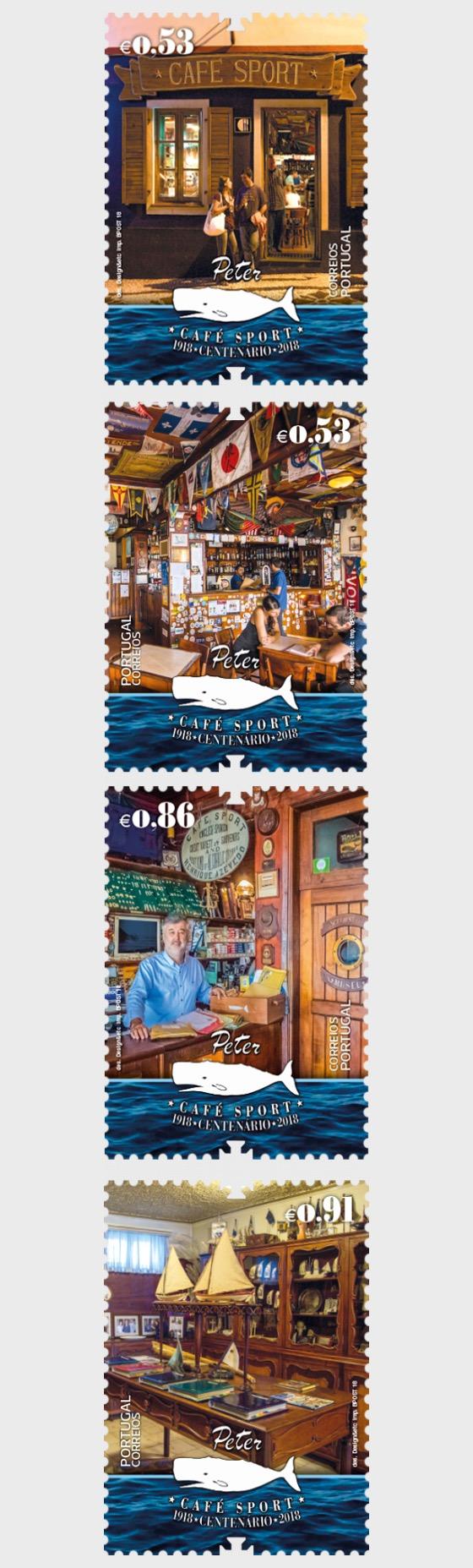Hundertjahrfeier von Peter Cafe Sport - Serie
