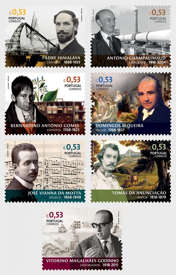 Figures in Portuguese History & Culture - Set