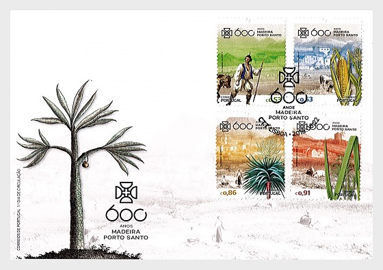 600 Years of the Discovery of Porto Santo - (FDC Set) - First Day Cover