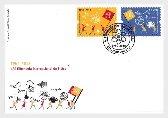 IPhO 2018 - First Day Cover