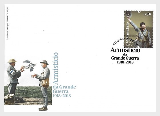 First World War Armistice 1918 - 2018 - (FDC Set) - First Day Cover