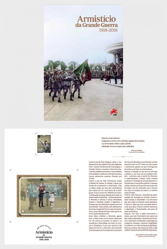 First World War Armistice 1918 - 2018 - Special Folder