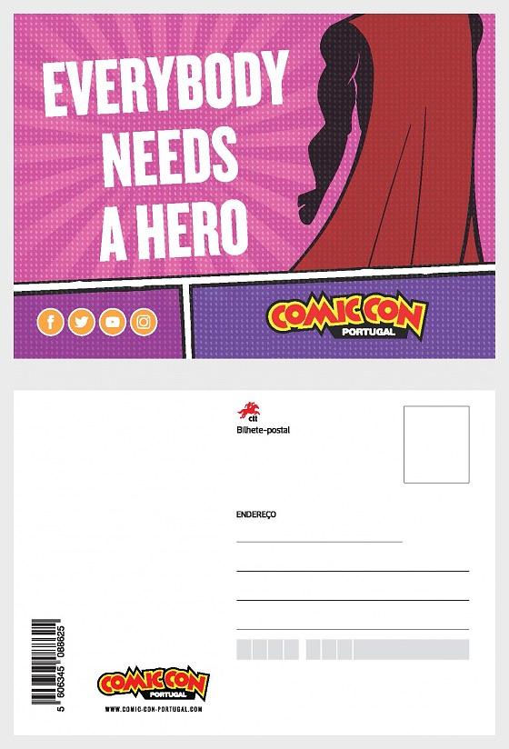 Meuselo Comic - Postcard