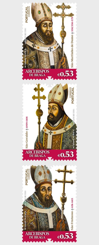 Philatelistische Ausgabe Erzbischöfe von Braga - Serie