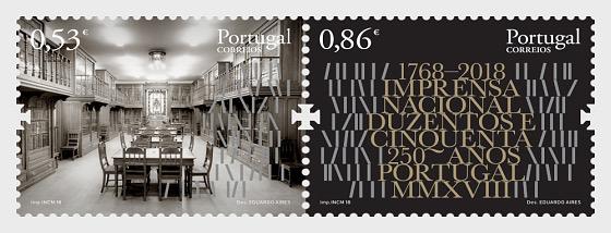 Imprensa Nacional - 250 Años - Series