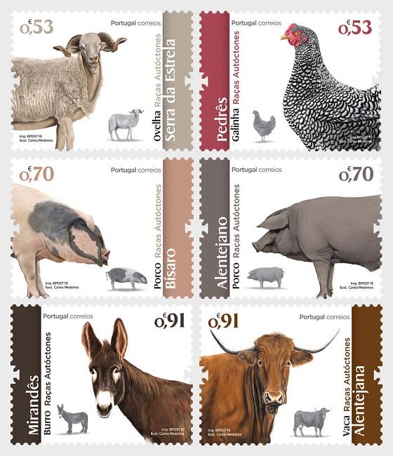 Portuguese Autochtonous Breeds - Set