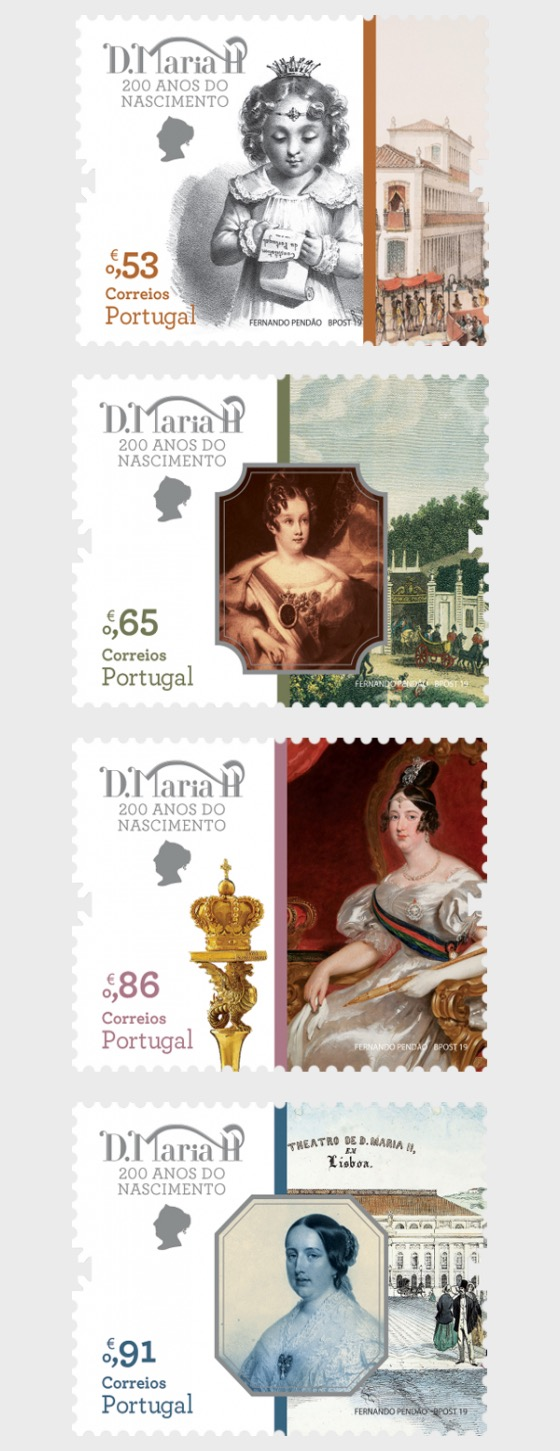 Queen Mary II of Portugal - Set