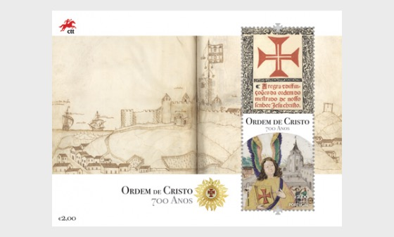 700th Anniversary of the Founding of the Order of Christ - Miniature Sheet