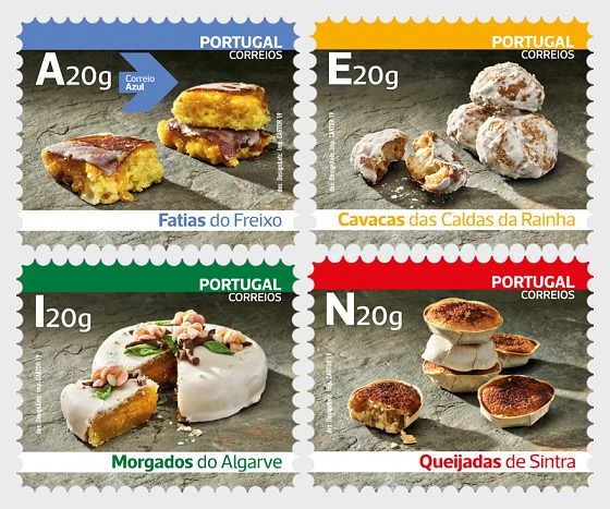 Traditional Sweets of Portugal (Self-Adhesive) - Set