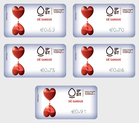Give Blood - Give Blood Time Label Set - Set