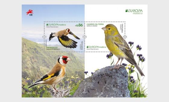 Madeira - Europa 2019 - Miniature Sheet