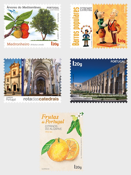 Alentejo/Algarve - Self-Adhesive - Set