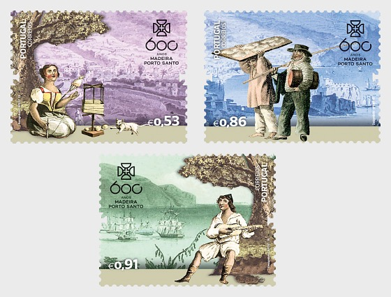 600 Jahre Entdeckung Madeiras - Serie