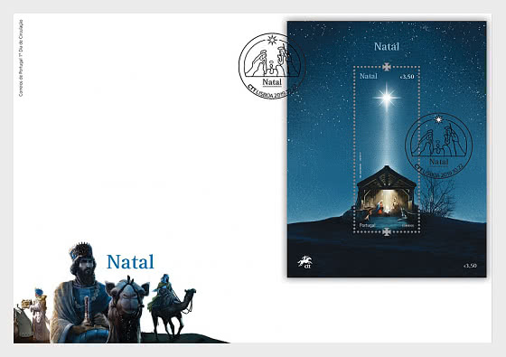 Christmas 2019 - The Three Wise Men - FDC M/S - First Day Cover