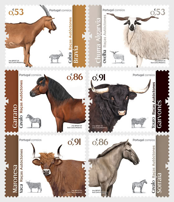 Portuguese Autochthonous Breeds - Set
