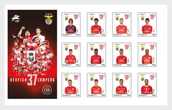 Personalised Stamps - Benfica - Booklet - Collectibles