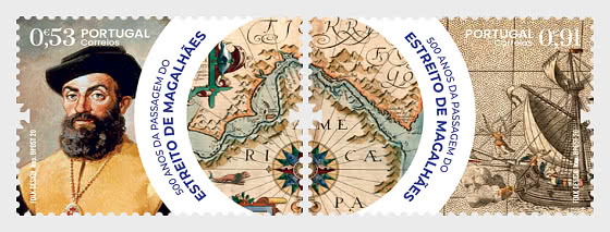 500th Ann of the Navigation of the Strait of Magellan - Set