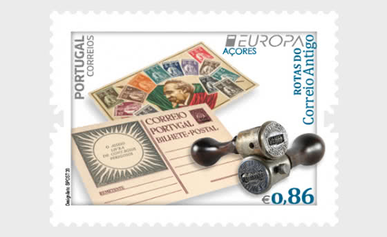 Azores - Europa 2020 - Ancient Postal Routes - Set