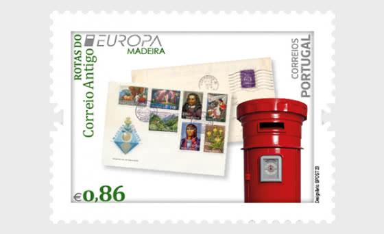 Madeira - Europa 2020 - Ancient Postal Routes - Set