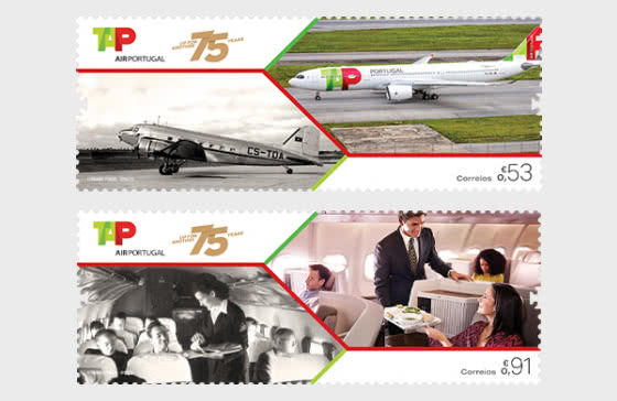 75 Years Of Tap Air Portugal - Set