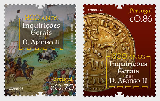 The General Inquiries Of D. Afonso II– 800th Anniversary - Set